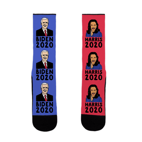 Biden Harris 2020 Socks Sock