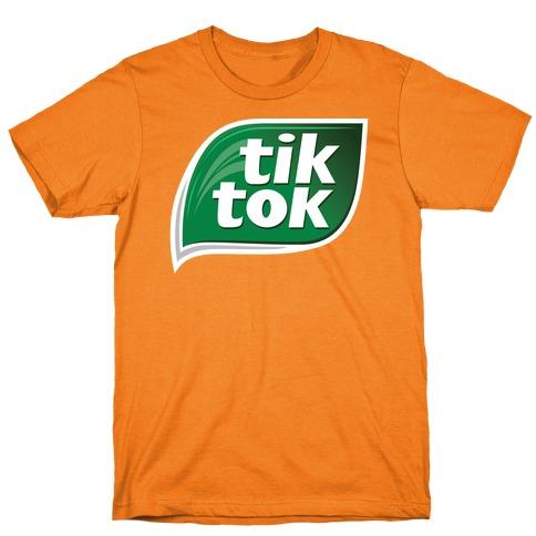 TikTok Tic Tac Parody Logo T-Shirt