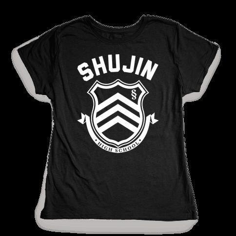 Shujin High School Womens T-Shirt