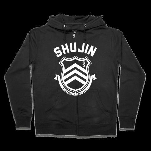 Shujin High School Zip Hoodie