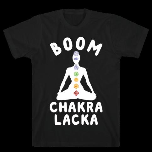 Boom Chakra Lacka Mens T-Shirt