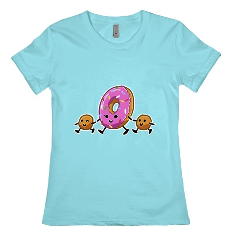 Donut Mom Womens T-Shirt