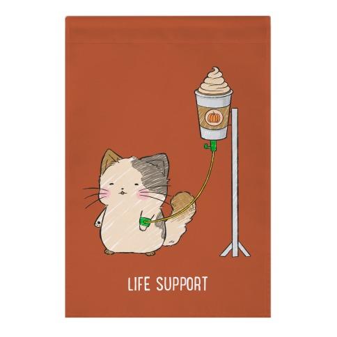 Life Support Garden Flag