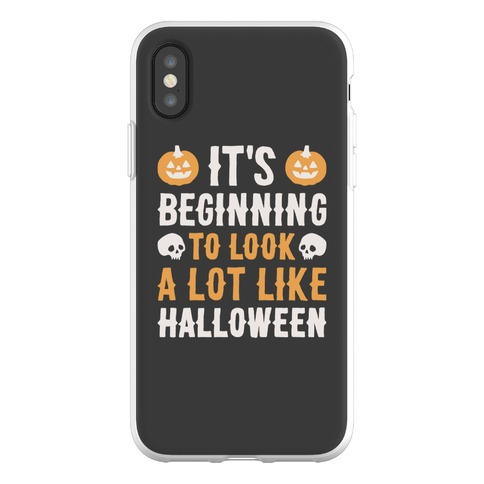 It's Beginning To Look A Lot Like Halloween Phone Flexi-Case