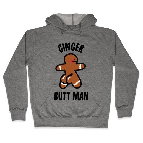 Ginger Butt Man Hooded Sweatshirt