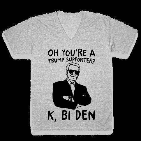 Bi Den  V-Neck Tee Shirt