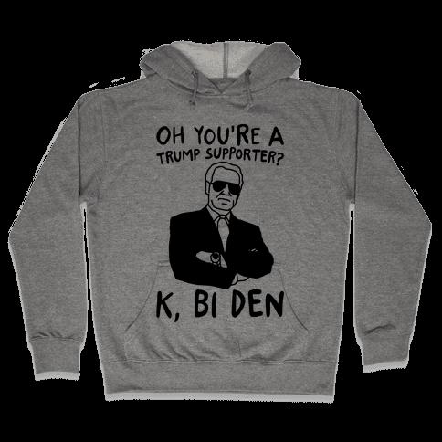 Bi Den  Hooded Sweatshirt