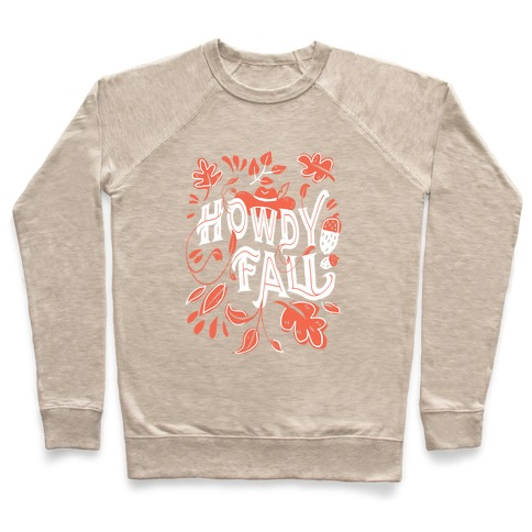 Howdy Fall Pullover
