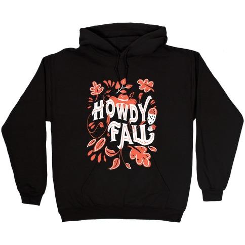 Howdy Fall Hooded Sweatshirt