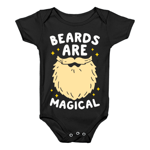 Beards Are Magical Baby Onesy