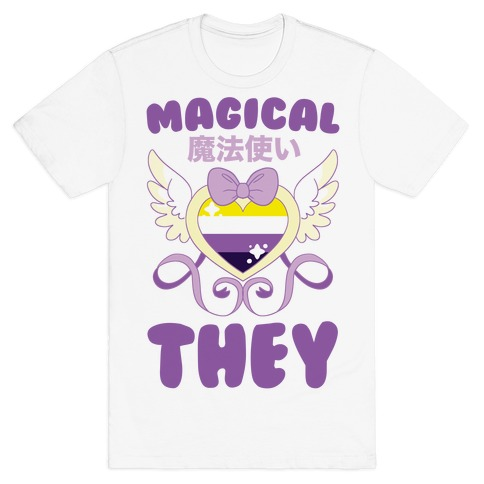 Magical They - Non-binary Pride T-Shirt