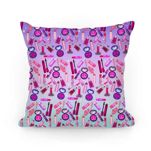 NSFW Makeup Pattern Pillow