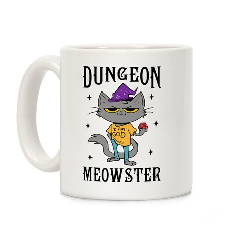 Dungeon Meowster Coffee Mug
