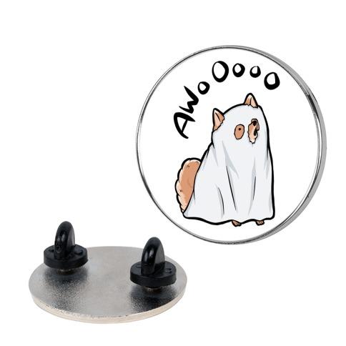 Ghost Dog Pin