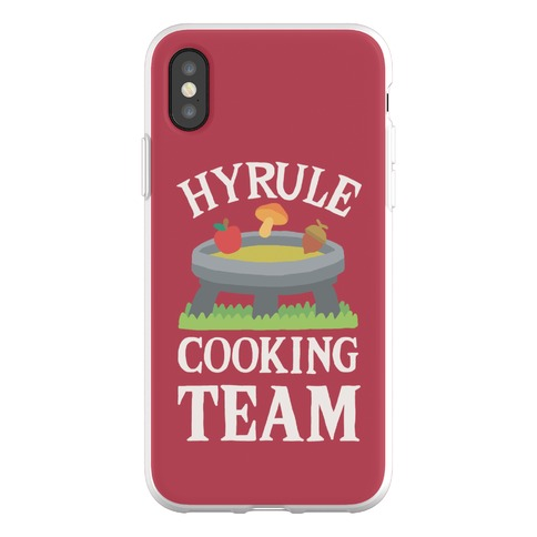 Hyrule Cooking Team Phone Flexi-Case