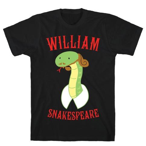 William Snakespeare T-Shirt