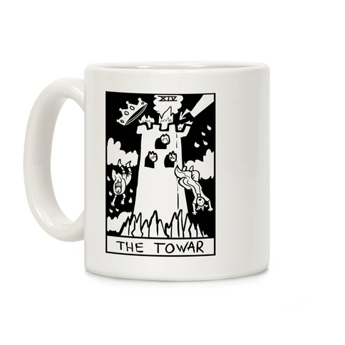Badly Drawn Tarots: The Tower Coffee Mug
