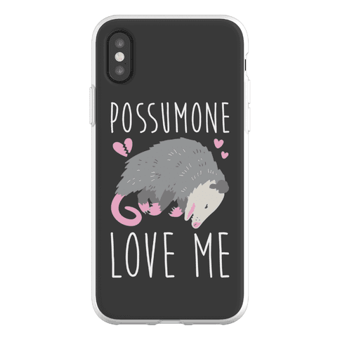 Possumone Love Me Opossum Phone Flexi-Case