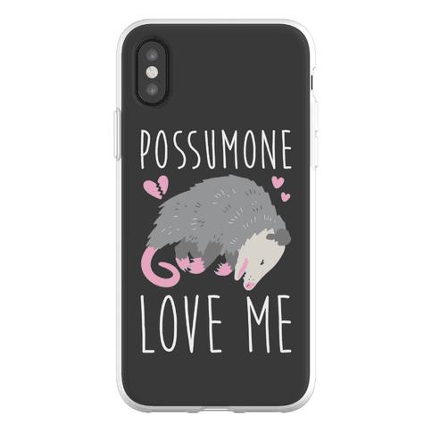 Possumone Love Me Opossum Phone Flexi-Case