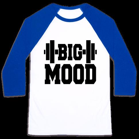 Big Mood Weights Baseball Tee