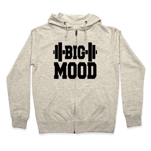 Big Mood Weights Zip Hoodie