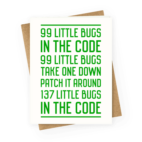 Image of 99 Little Bugs in the Code