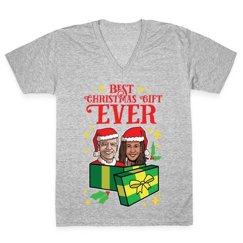 Best Christmas Gift EVER V-Neck Tee Shirt