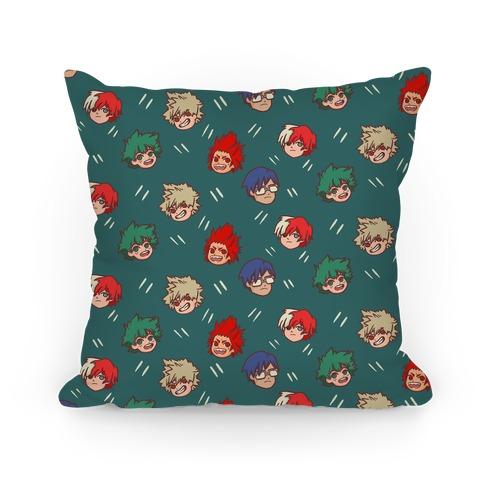 My Hero Academia Pattern Pillow
