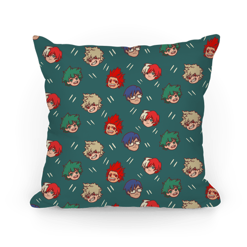 My Hero Academia Pattern Pillow