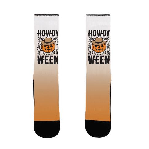 Howdyween Sock
