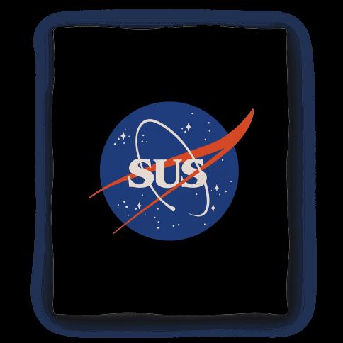 Sus Nasa Logo Parody Blanket