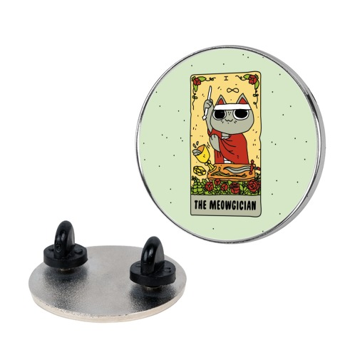 The Meowgician Pin