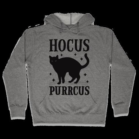 Hocus Purrcus Cat Hooded Sweatshirt