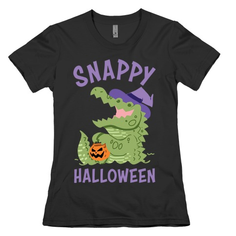 Snappy Halloween Womens T-Shirt