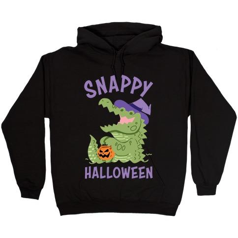 Snappy Halloween Hooded Sweatshirt