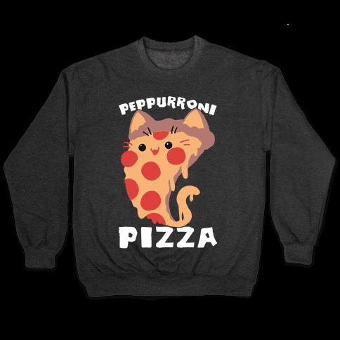 PepPURRoni Pizza Pullover