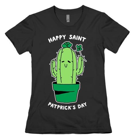 Happy Saint Patprick's Day Womens T-Shirt