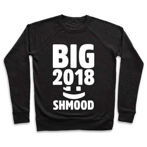 Big 2018 Shmood White Print Pullover
