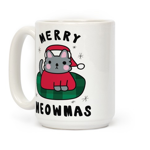 Merry Meowmas Coffee Mug