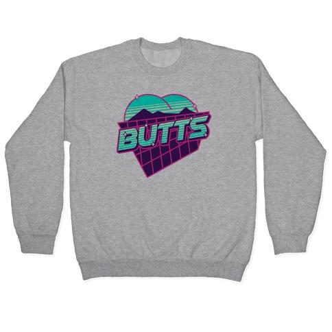 Retro Butts Pullover