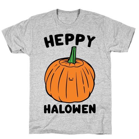 Heppy Halowen Parody T-Shirt