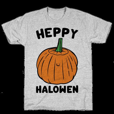 Heppy Halowen Parody Mens T-Shirt