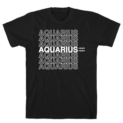 Aquarius - Zodiac Thank You Parody T-Shirt
