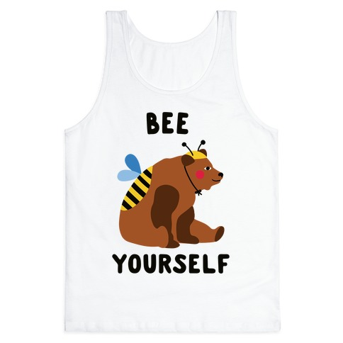 Bee Yourself Bear Tank Top