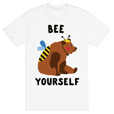Bee Yourself Bear T-Shirt