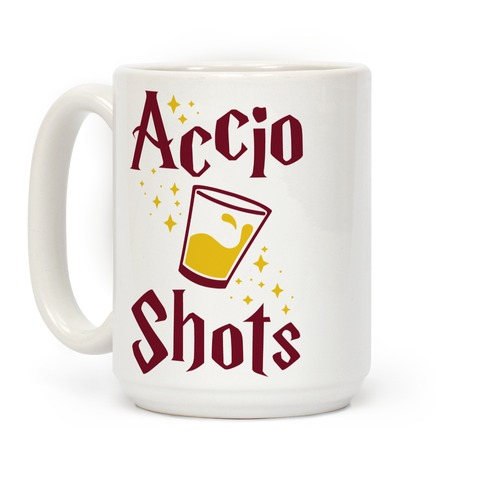 Accio Shots Coffee Mug