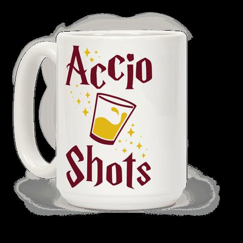 Accio Shots Coffee Mug