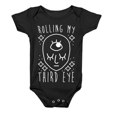 Rolling My Third Eye Baby Onesy
