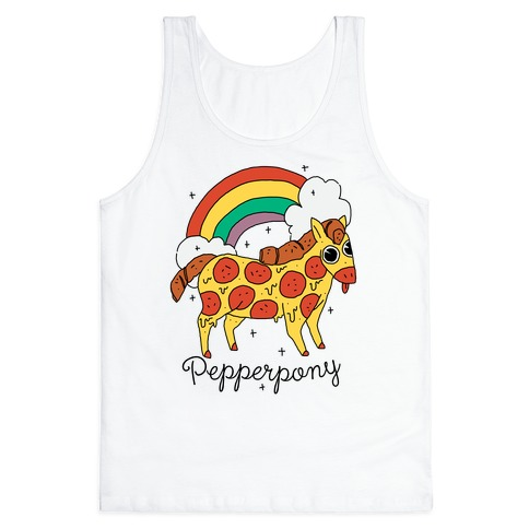 Pepperpony Tank Top