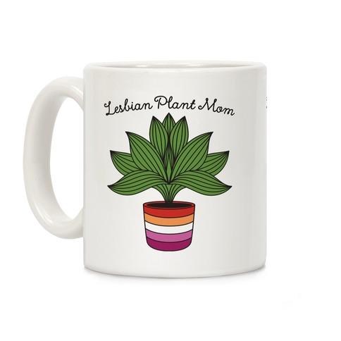 Lesbian Plant Mom Coffee Mug
